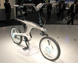 На автосалоне в Токио показан велосипед Yamaha