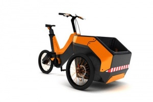 Трёхколёсный велосипед для разнорабочих