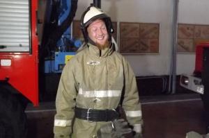 Британский пожарный едет в Сибирь на велосипеде