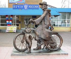 Почтальоны Хакассии получили 153 велосипеда