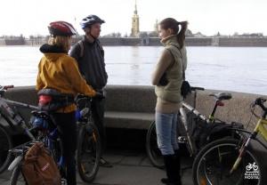 В Питере появились бесплатные прокатные велосипеды