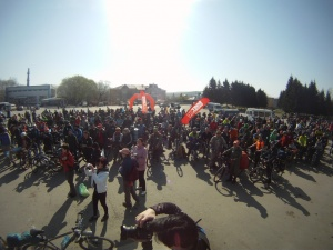 На Алтае стартовал 10-ый общесибирский первомайский велопробег