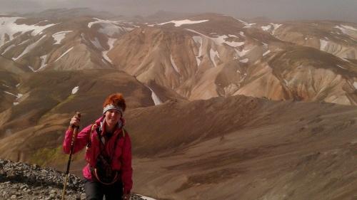 Светлана Глушкова путешествует по Исландии на велосипеде