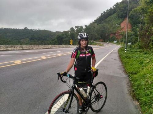 """Соня Коротич: """"Я вдохновила отца снова заняться велоспортом, а он помогает мне осуществить мою мечту - путешествовать!"""""""