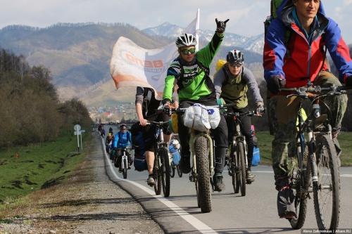 Три сотни велотуристов со всей Сибири поставили палатки в Черге