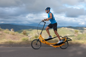 В открытую продажу поступил первый эллиптический велосипед