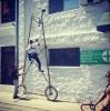 Велосипед высотой 4,5 метра
