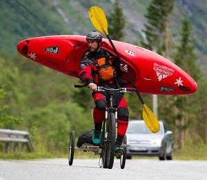 "Норвегию объехали в формате ""велосипед+каяк"""