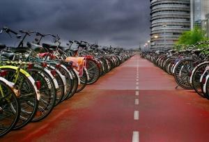Борьба с велосипедными пробками