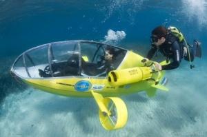 Подводная лодка на педальном ходу