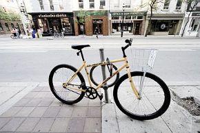 Как украсть велосипед в центре города?