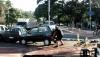 Велосипедист руками утащил авто с велодорожки!