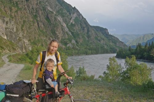 Как организовать семейный велопоход по Горному Алтаю с маленьким ребёнком? Часть II