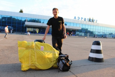 Барнаульский велосипедист Кирилл Зацепин сегодня отправился в путешествие по Европе