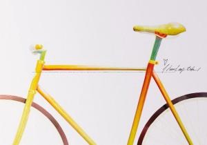 Съедобные велосипед из Швеции