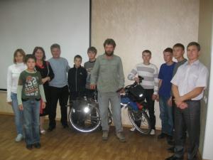 Встреча втихаря или о том как известного велопутешественника скрыли от барнаульских велосипедистов