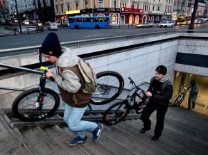 Велосипедисты Москвы хотят ездить в метро