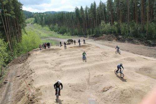 Первые соревнования прошли на новом памп-треке в Белокурихе