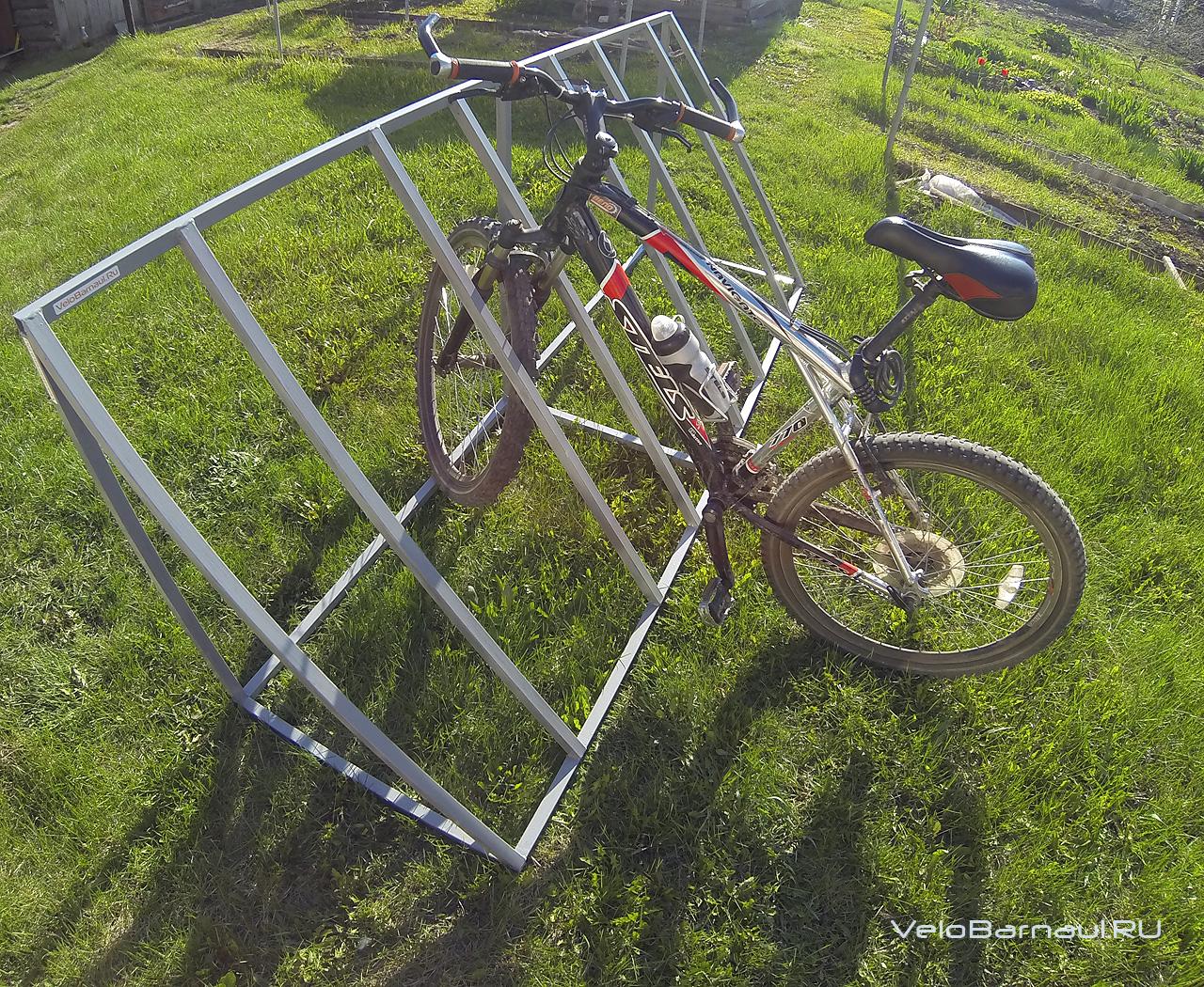 Стоянка для велосипедов своими руками 54
